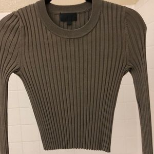 Top ribbed long sleeves - Intermix
